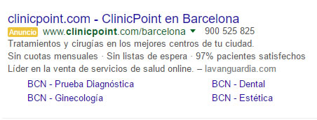 clinicpoint sem