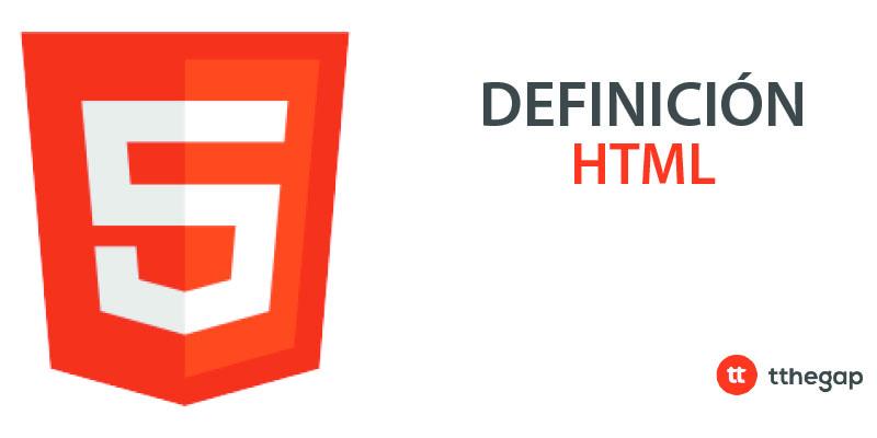 Diccionario tthegap. HTML