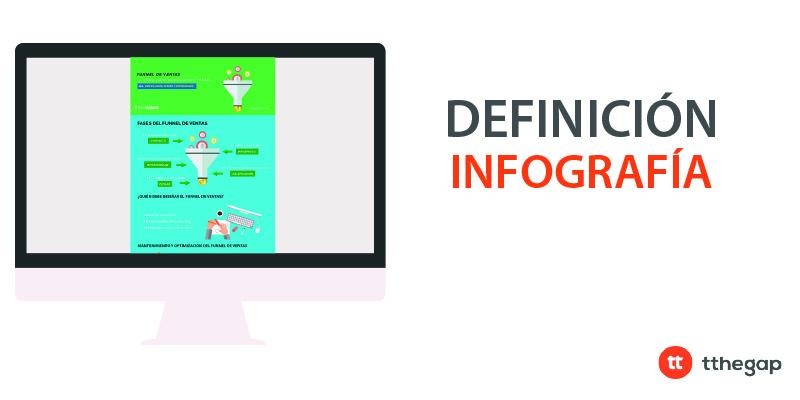 Diccionario tthegap. Infografía